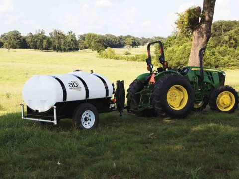 Tractor 500 Gallon Compact Water Trailer