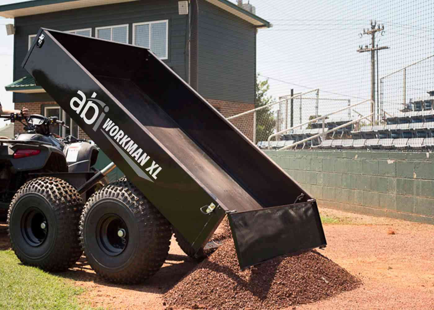 Amazing ATV Dump Trailer - Workman XL by ABI