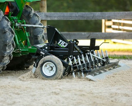 Profile Blades Help Create Consistent Arena Footing