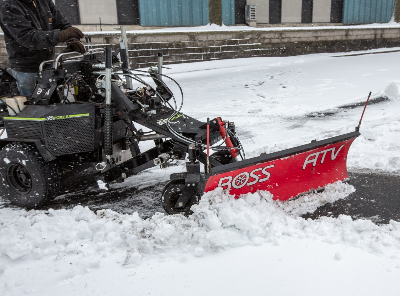 Snow Plow Mounting System
